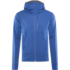 Mammut Ultimate V SO Hooded Jacket Men ultramarine-titanium melange
